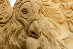 Häst - Sandart Fotografering för Bildbyråer