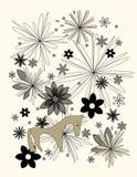 hästbildvektor Stock Illustrationer