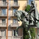 Hästen av Berenguer Arkivfoto