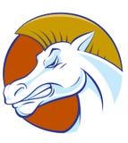 Hästhuvud Arkivbild