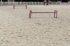 Hästkapplöpningspår Royaltyfri Foto