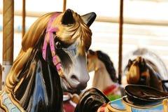 Hästkarusell Fotografering för Bildbyråer