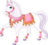 hästkunglig person Royaltyfria Bilder
