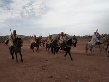 Hästlekar Arkivbilder