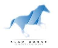 Hästlogo Fotografering för Bildbyråer