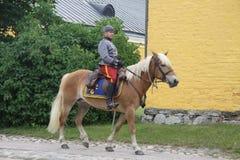 Hästpatrull Arkivbilder