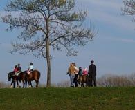 hästridning Royaltyfria Bilder