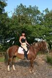 hästryttare Royaltyfri Foto