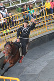 Hästshowhändelse i Taiwan Arkivfoton
