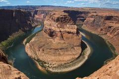 Hästskoböjning i sidan Arizona Royaltyfri Bild