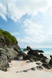 Hästskofjärdstrand i Bermuda Fotografering för Bildbyråer