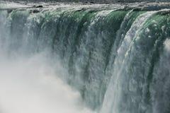 Hästskonedgångar på Niagara Arkivbilder