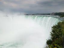 Hästskonedgången Niagara Falls, Ontario, Kanada royaltyfria foton
