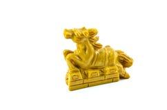 Hästskulptur Royaltyfria Bilder