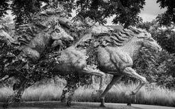 Hästskulptur Royaltyfri Foto