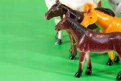 hästtoys Arkivfoton