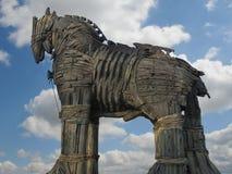 hästtrojan royaltyfri bild