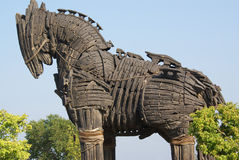 hästtrojan Arkivfoto