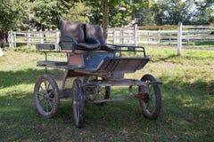 Hästvagn Fotografering för Bildbyråer