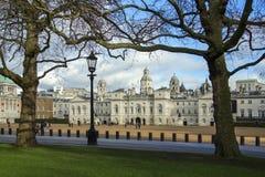 Hästvakter ståtar - London - England Arkivfoto