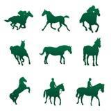 hästvektor Arkivfoto