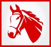 Hästvektorsymbol Royaltyfria Bilder