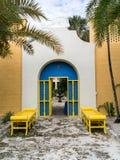 Hättahus, Ft Lauderdale, Florida Arkivfoto