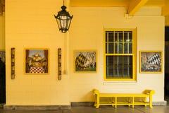 Hättahus, Ft Lauderdale, Florida Fotografering för Bildbyråer