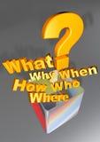 Häufig stellen Sie Fragen Lizenzfreie Stockbilder