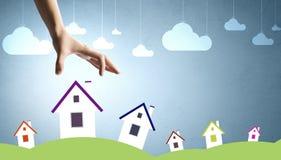 Häuschen auf Ihrer Nachfrage! Lizenzfreie Stockfotografie