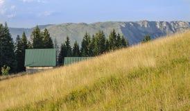 Häuschen des Berges Lizenzfreie Stockfotografie