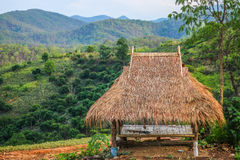 Häuschen errichtete Natur Lizenzfreie Stockbilder