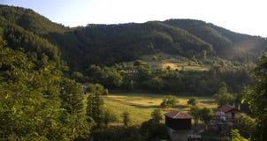 Häuschen im Berg Lizenzfreies Stockfoto