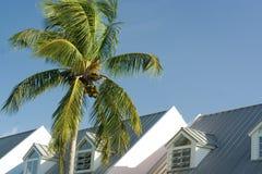 Häuschendächer stockfoto