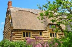 Häuschendetail, Blisworth, Northamptonshire Lizenzfreie Stockbilder