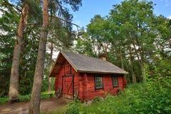 Häuschenhaus Aleksis Kivi Finland Lizenzfreie Stockfotos