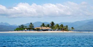Häuscheninsel stockbilder