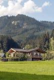 Häuser in Österreich Stockfoto