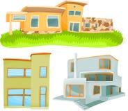 Häuser 01 Lizenzfreies Stockfoto