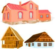 Häuser 02 Lizenzfreie Stockfotos