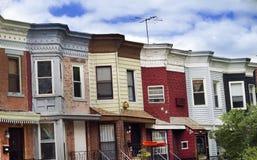 Häuser Stockfotografie