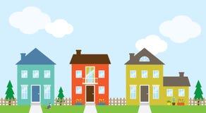 Häuser Stockfoto