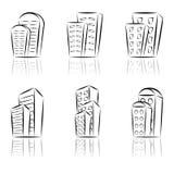 Häuser. Stockbild