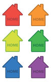 Häuser Lizenzfreie Stockbilder