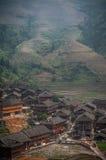Häuser auf den Hügeln Lizenzfreie Stockfotografie