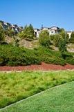 Häuser auf Ridge Lizenzfreie Stockfotos
