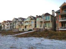 Häuser bei Hilton Head lizenzfreies stockbild
