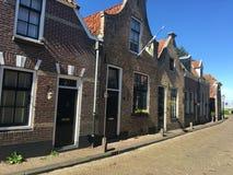 Häuser in Blokzijl Lizenzfreie Stockfotos