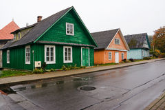 Häuser Caraite Lizenzfreies Stockfoto