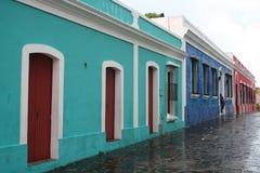 Häuser in Ciudad Bolivar Lizenzfreies Stockbild